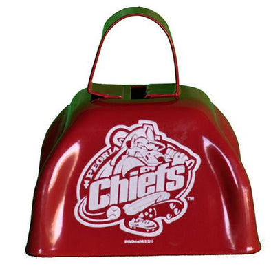 Peoria Chiefs Red Cowbell
