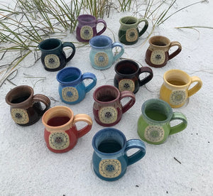 Seaside Sundog Books Branded Roundbelly Deneen Pottery Mugs