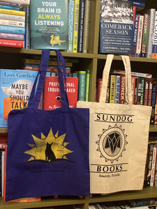 Sundog Canvas Bags ~ Perfect for your Sundog books!!