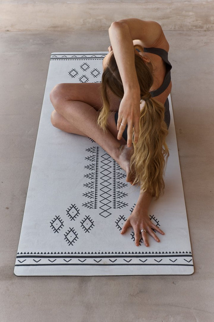 Afghan Printed Yoga Mat by Yin