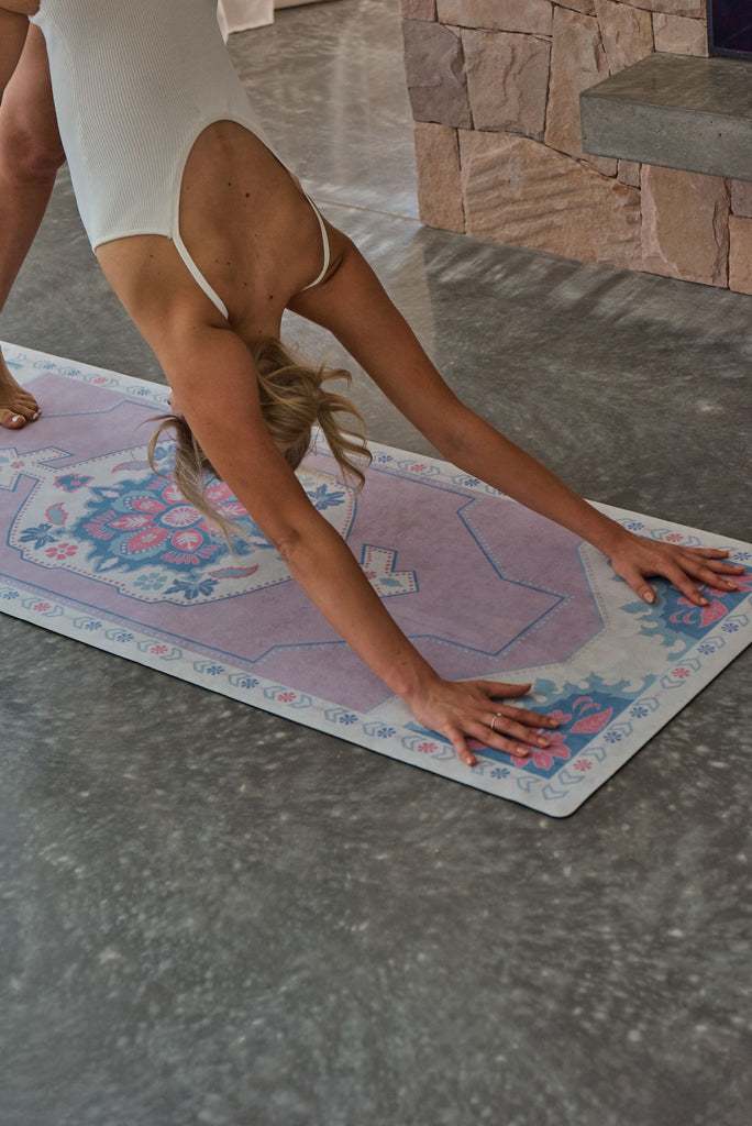 Kasbah Printed Yoga Mat by Yin