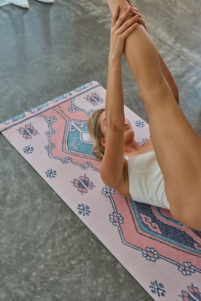 Marrakesh Printed Yoga Mat by Yin