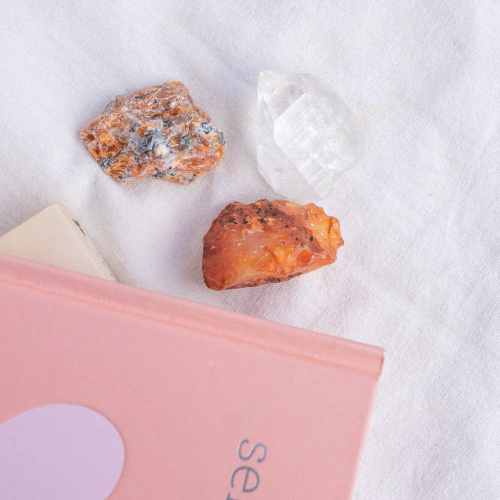 motivate and create crystals