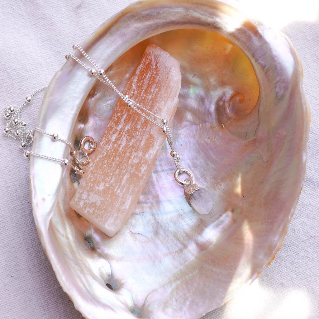 Moonstone Silver necklace