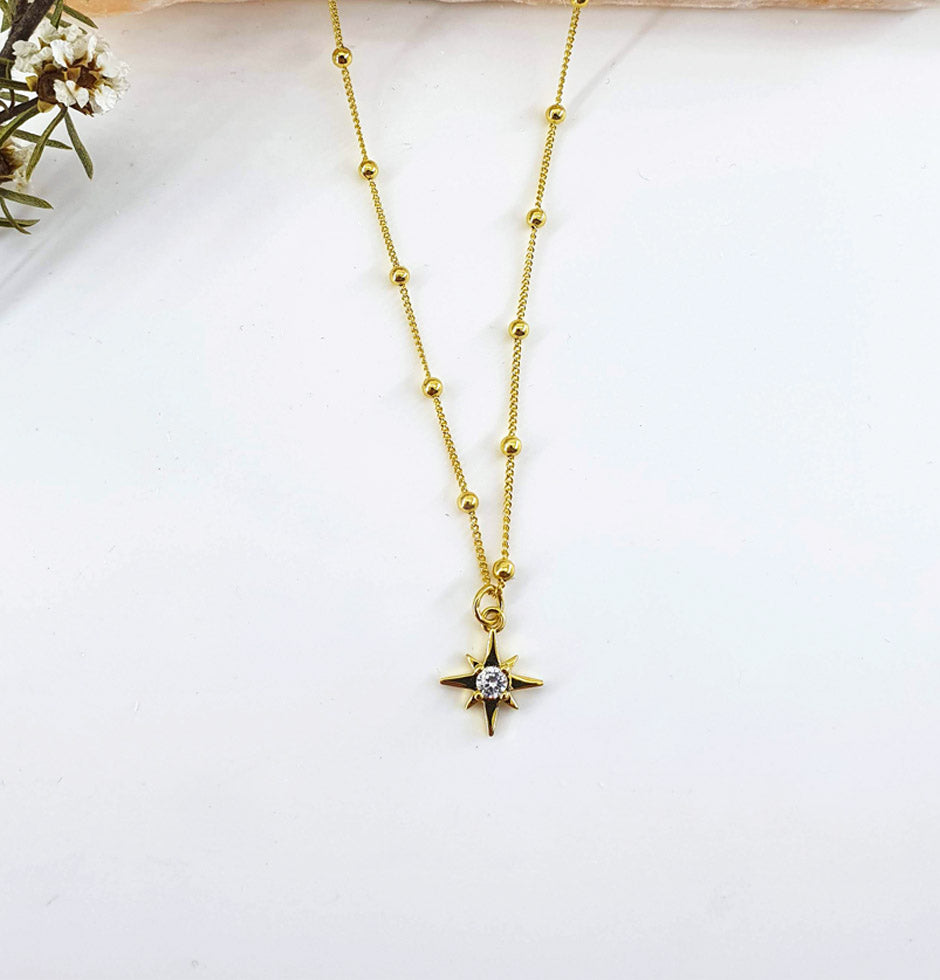 North Star - Gold Necklace