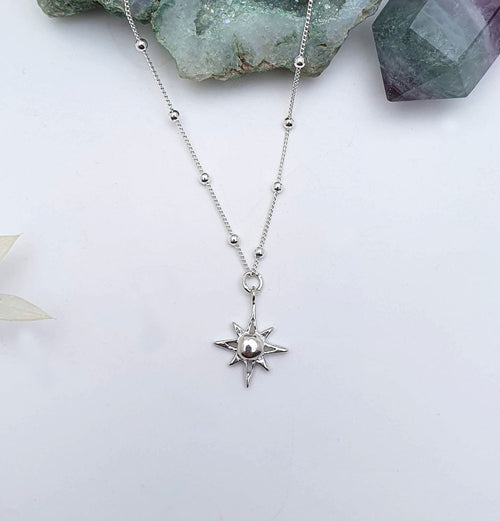 "North Star ""Isla"" - Sterling Silver Necklace"