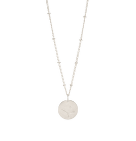 Cancer Silver Constellation Necklace