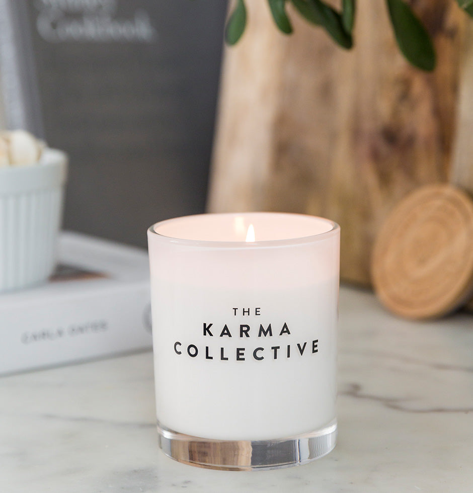 Lychee & Peony Scented Soy Candle