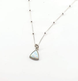 Opal 'Daydreamer' Necklace - Sterling Silver