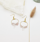 "Rose Quartz ""Dahlia"" Earrings"