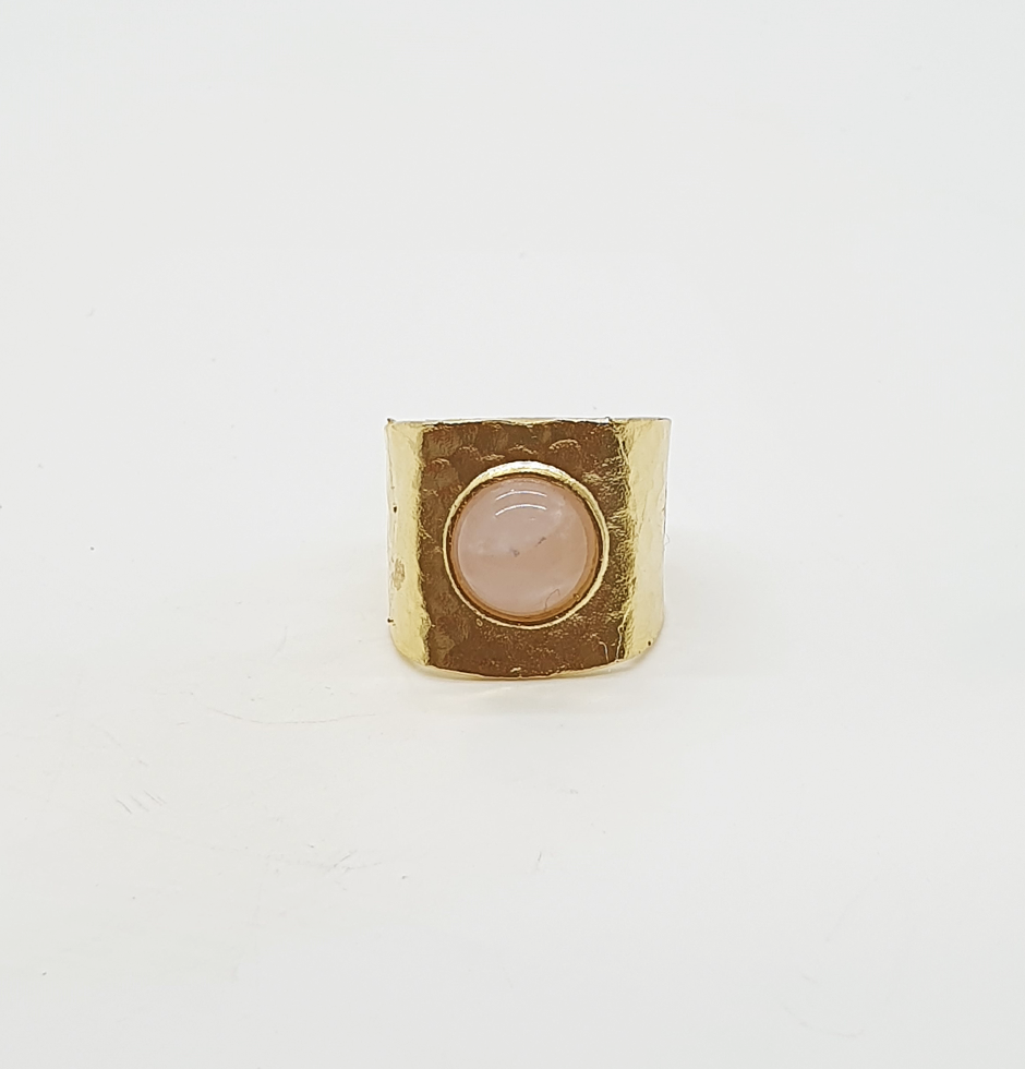 Stone Goddess Rose Quartz Ring