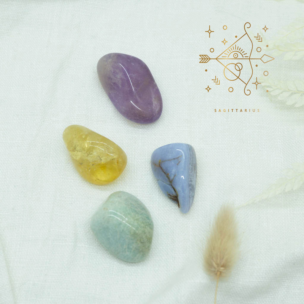 sagittarius gemstone kit