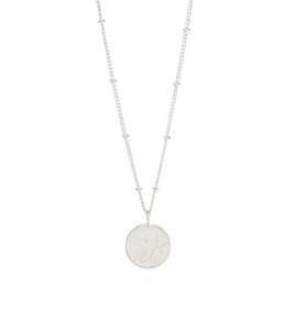 Scorpio Silver Constellation Necklace