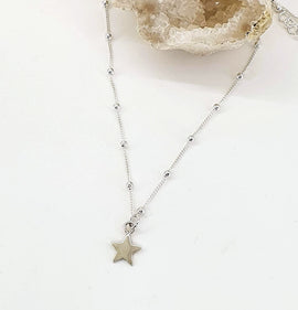 "Star ""Astrid"" - Sterling Silver Necklace"