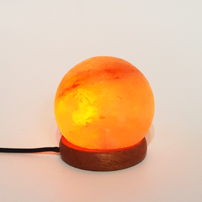 usb sphere himalayan salt lamp