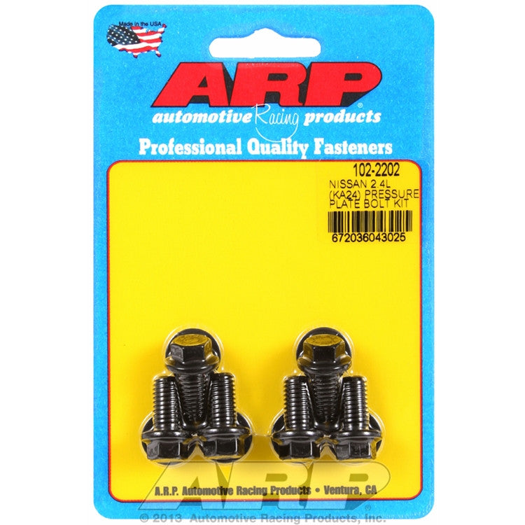 ARP 102-2202 Clutch Cover Pressure Plate Bolts for 2.4 KA24E KA24DE