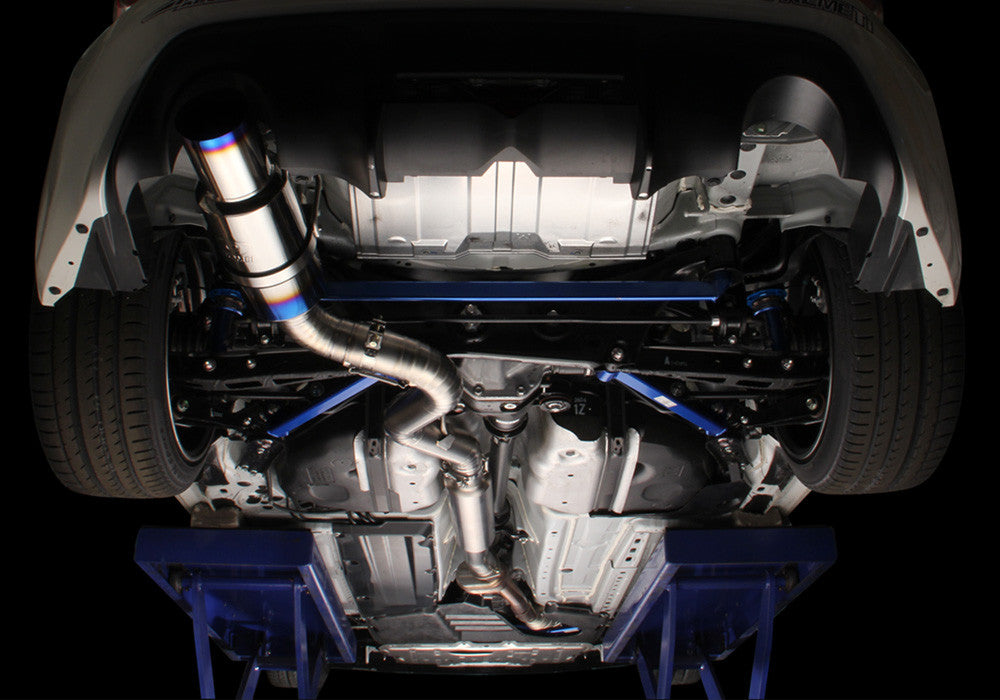 Tomei Expreme Titanium Type-80 Exhaust for Scion FR-S/Subaru BRZ