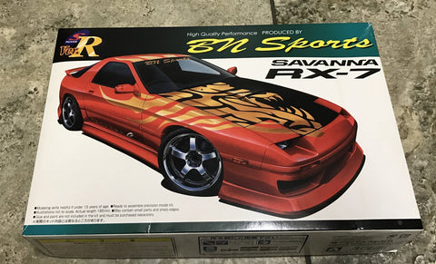 Aoshima 1/24 BN Sports SAVANNA RX - 7