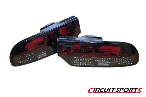 Circuit Sports Smoked Rear Tail Light Kit for S13 Hatch