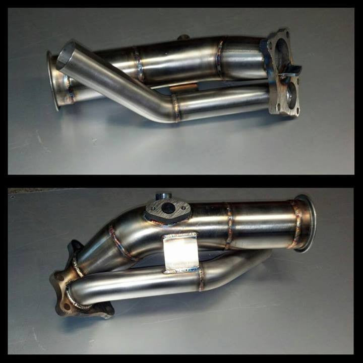 Future Fabrication VVTi 1jz Turbo Elbow with External Dump