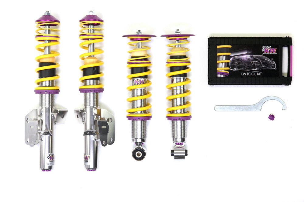 KW Suspension KW Clubsport Coilover Kit With Top Mounts for Scion FR-S / Subaru BRZ