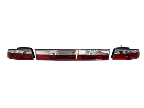 Circuit Sports Crystal Rear Tail Lamp Lights for S14 240SX Zenki
