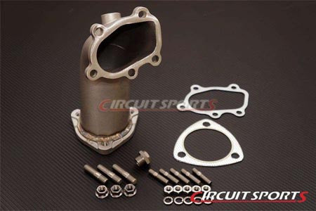 "Circuit Sports V2 Lost Wax Casted Stainless Steel 3.0"" Turbo Elbow"