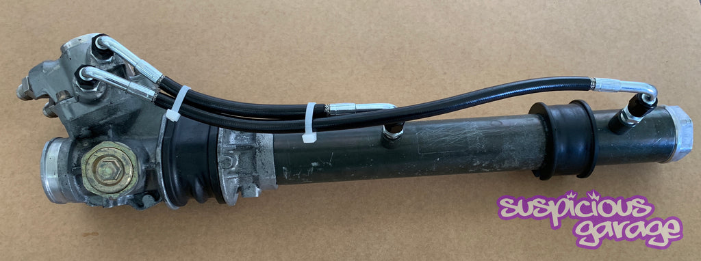 Suspicious Garage S Chassis Steering Rack Balance Lines