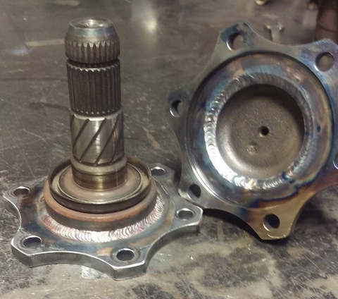 GarretNuts Z33 axle conversion for R200