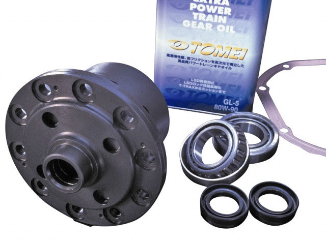 Tomei T-TRAX Advance LSD - 1.5 Way - Nissan 240SX S13 S14 Open Diff