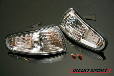 Circuit Sports Clear Corner Lamp Light for S14 240SX Zenki
