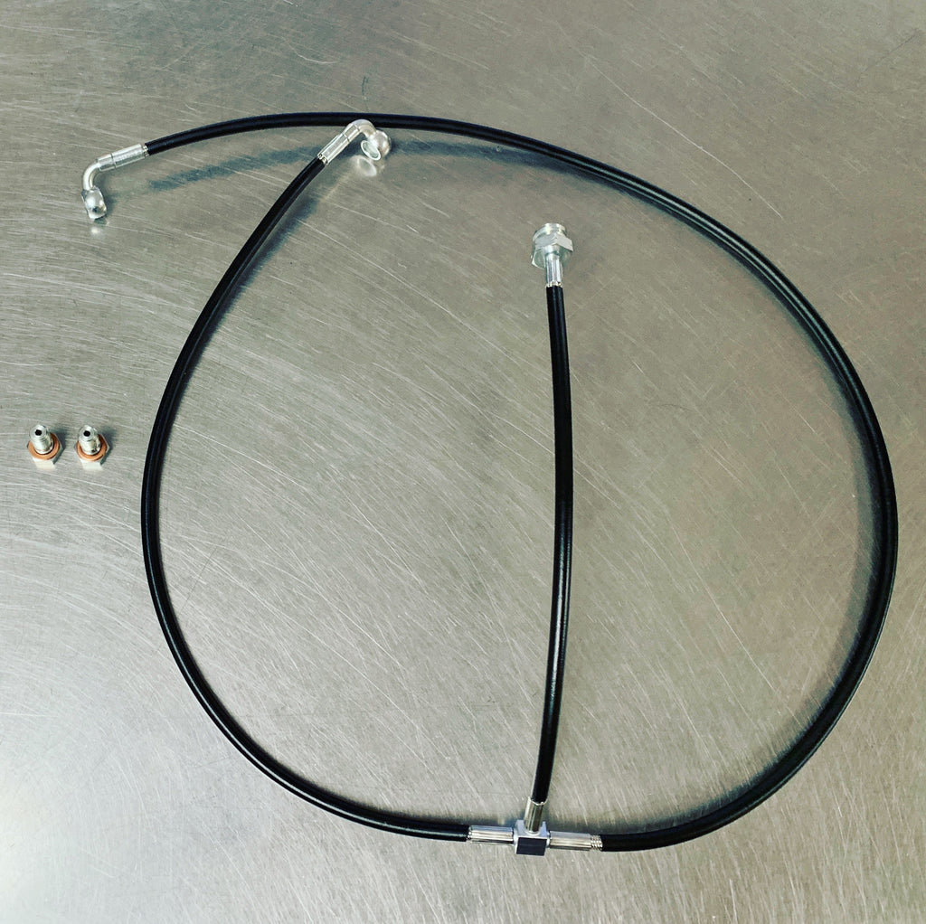 "Toyota 84-87 AE86 Ford 8.8/9"" Rear End Brake Line Kit"