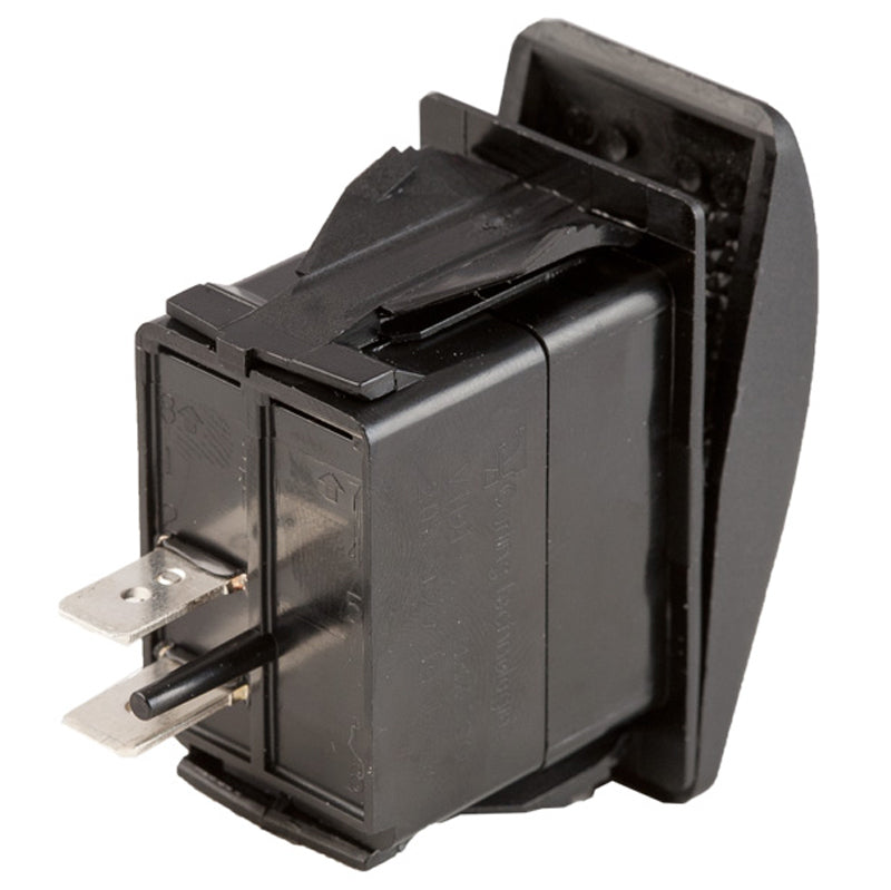 OFF-ON Contura II Sealed Switch W/Soft Touch Black Actuator