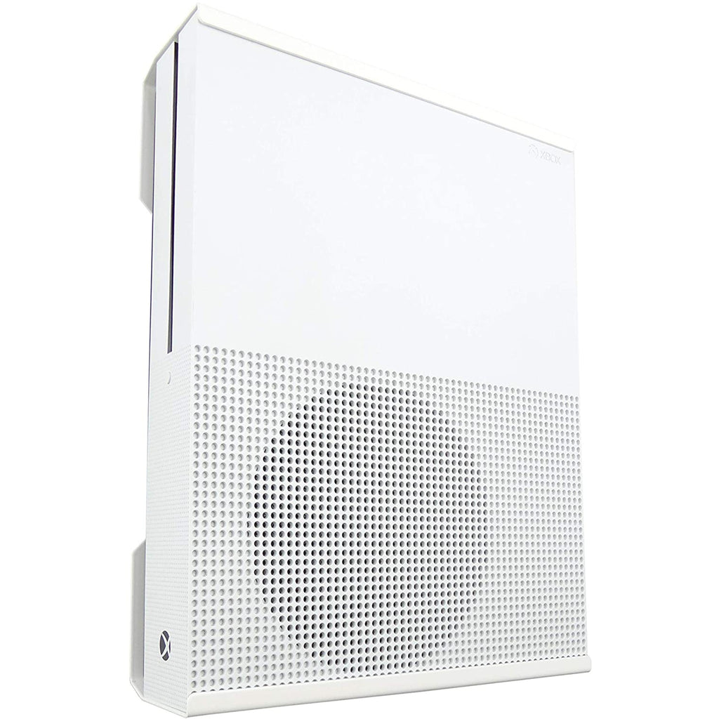 Xbox One S Wall Mount and One S Digital (White) - Signature X Design! - Made in the UK!
