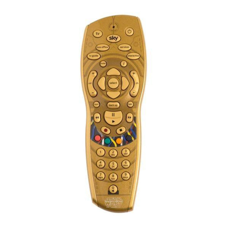 Star Wars™ C-3PO Inspired Sky+HD Remote