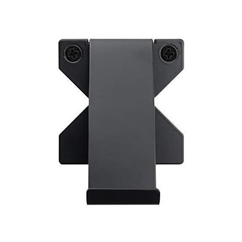 Xbox One and Series S/X Controller Wall Mount Bracket x2 (Black) - Signature X Design!
