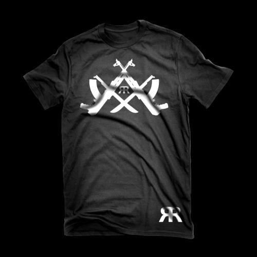 "ЯR ""Reverse Compass"" Black t-shirt"