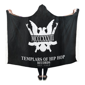 "ЯR ""MCCCXXXIII"" Hooded Blanket 80''x56''"