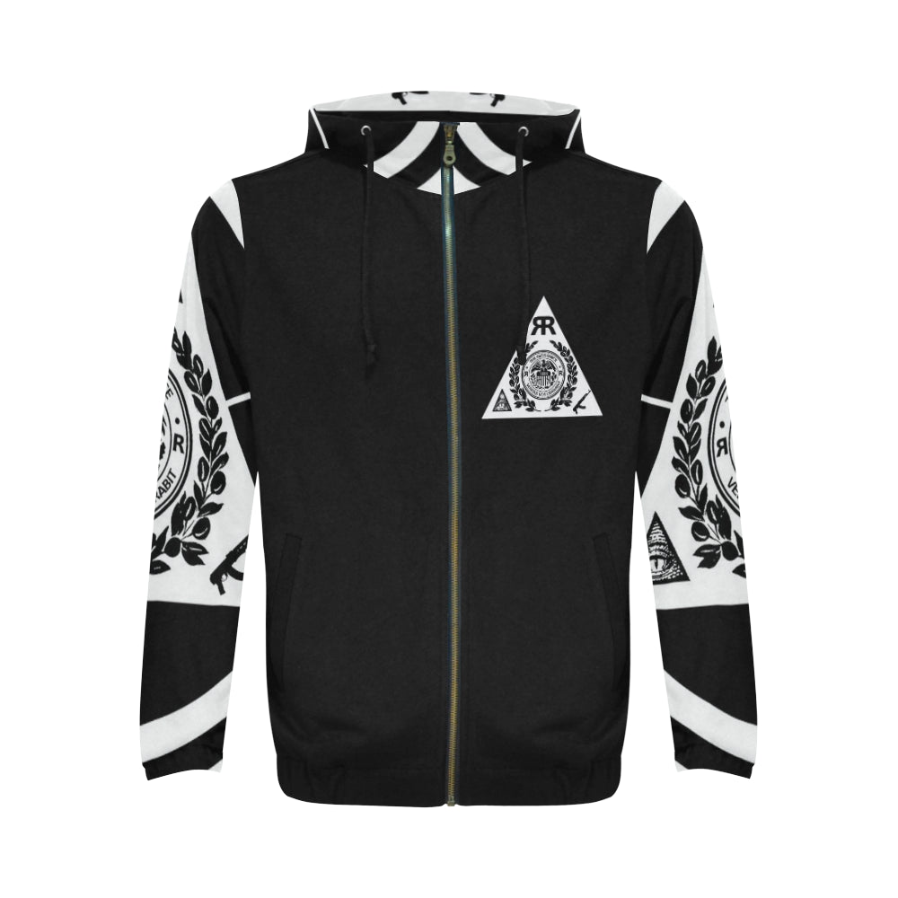 "ЯR ""Master of Symbolic Secrets"" Zip-up hoodie"
