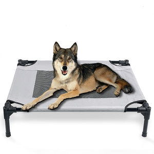 Elevated Dog Bed With Sunshade