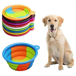 Portable Dog Feeder & Water Bowl