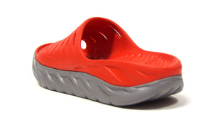 HOKA ONE ONE ORA RECOVERY SLIDE  M.RED/L.GRY 2