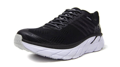 HOKA ONE ONE CLIFTON 6 BLK/WHT 1
