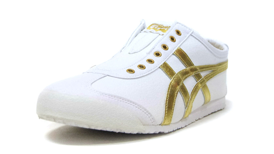 Onitsuka Tiger MEXICO 66 SLIP-ON WHITE/PURE GOLD 1