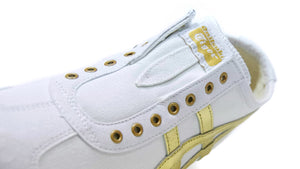 Onitsuka Tiger MEXICO 66 SLIP-ON WHITE/PURE GOLD 6