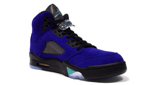 "JORDAN BRAND AIR JORDAN 5 RETRO ""PURPLE GRAPE"" ""MICHAEL JORDAN"" GRAPE ICE/NEW EMERALD/BLACK/CLEAR 5"