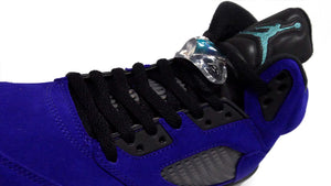 "JORDAN BRAND AIR JORDAN 5 RETRO ""PURPLE GRAPE"" ""MICHAEL JORDAN"" GRAPE ICE/NEW EMERALD/BLACK/CLEAR 6"