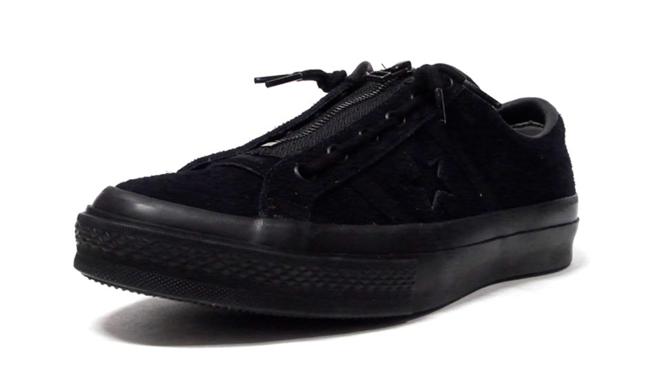 CONVERSE STAR & BARS CENTERZIP OX BLACK MONOCHROME 1