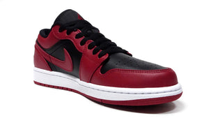 "JORDAN BRAND AIR JORDAN 1 LOW ""VARSITY RED"" ""MICHAEL JORDAN"" GYM RED/BLACK/WHITE 5"