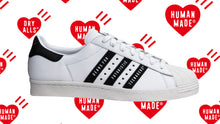 "画像をギャラリービューアに読み込む, adidas SUPERSTAR80S ""HUMAN MADE""  WHT/BLK/NAT/RED/GLD 8"